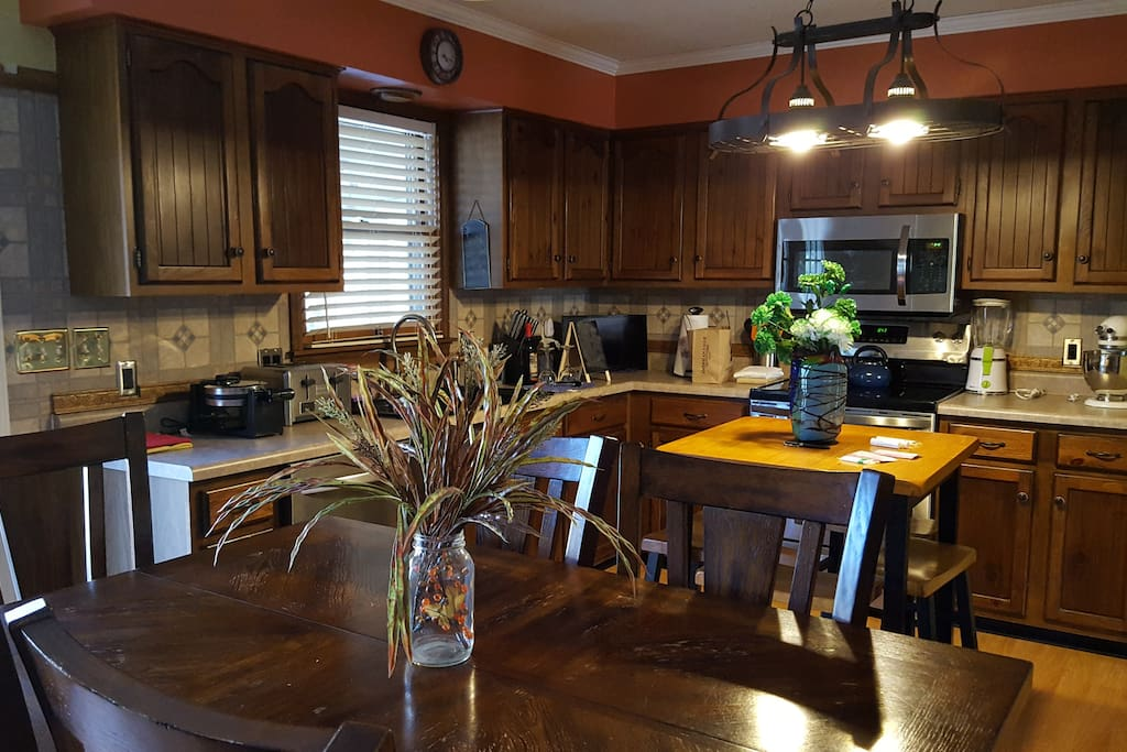 Dining Room Looking into Kitchen