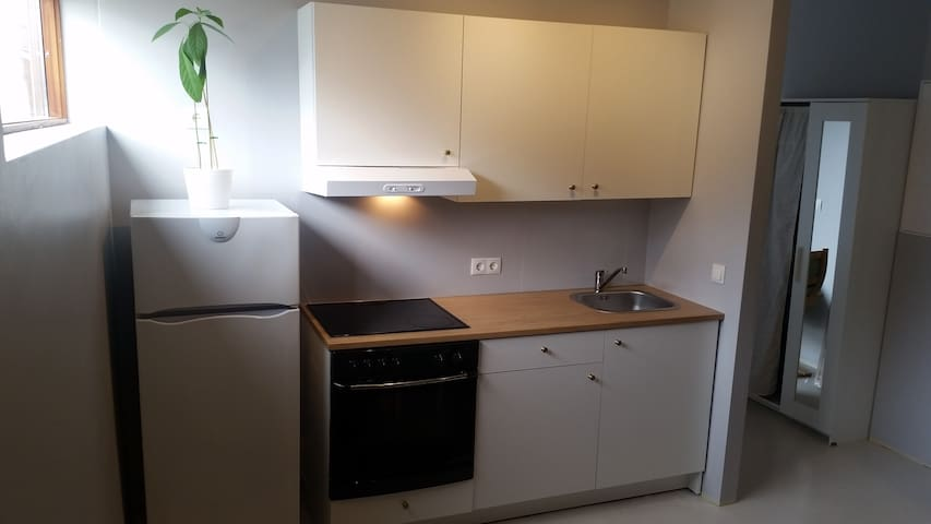 Cosy private studio apartment - Hveragerði - Appartement