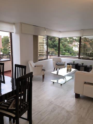 Penthouse 2 dorm  El Golf - Las Condes - Lägenhet