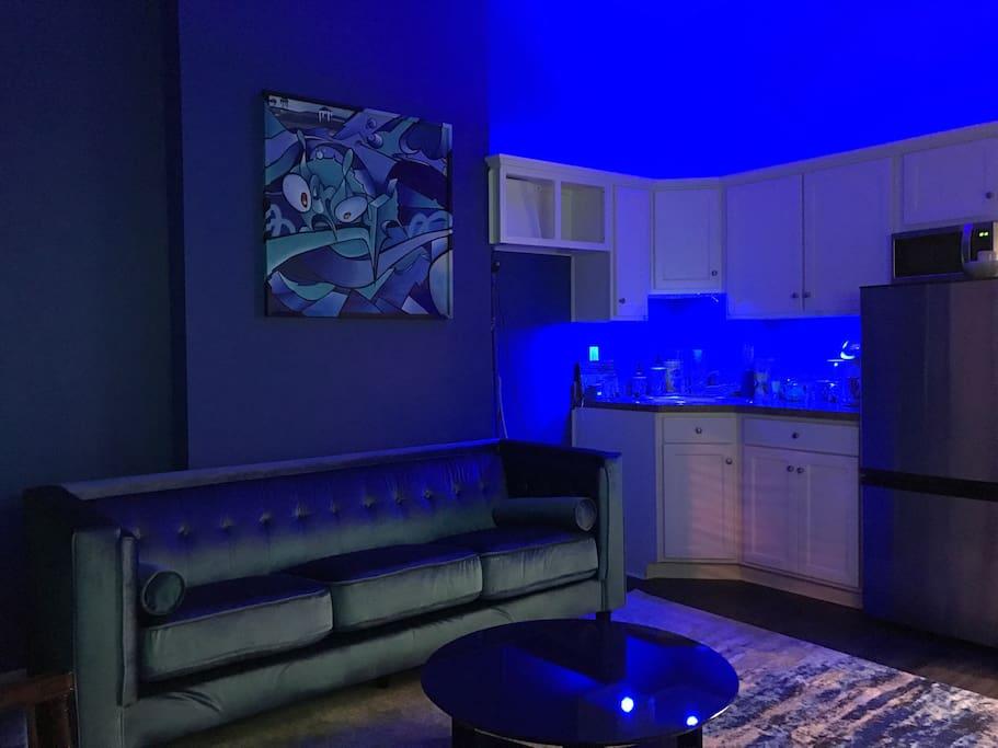 So blue!!
