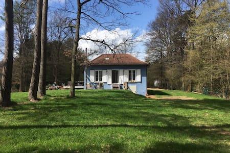 Glückshaus mit Gartensauna & Kaminofen ..Kuschelig