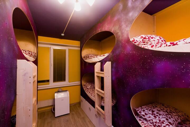 """Malinka hostel"" Place in 8-bed room ""Gagarin"""