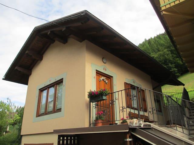 Casetta nel cuore verde del Trentino