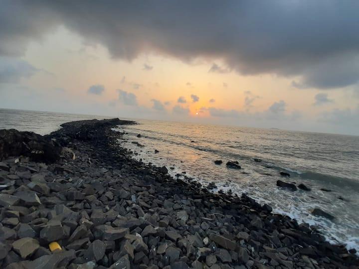The Roadside homestay near thal Alibag beach