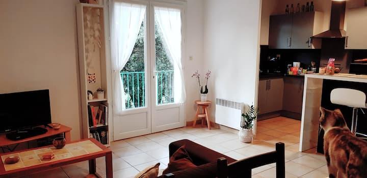Maison 65 m2 à 8 min d'Avignon, proche commodités