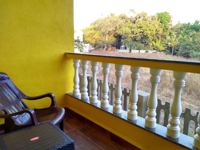 Single room in Anjuna, near Baga and Vagator
