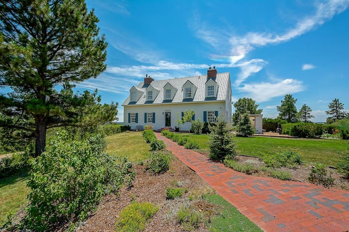 Franktown Home on 80 acres of private land