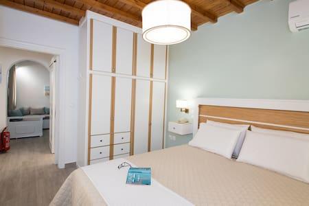 Filoxenia Apartments Ornos (1 bedroom,living room)