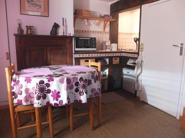 Studio dans maison savoyarde - Granier - Dom