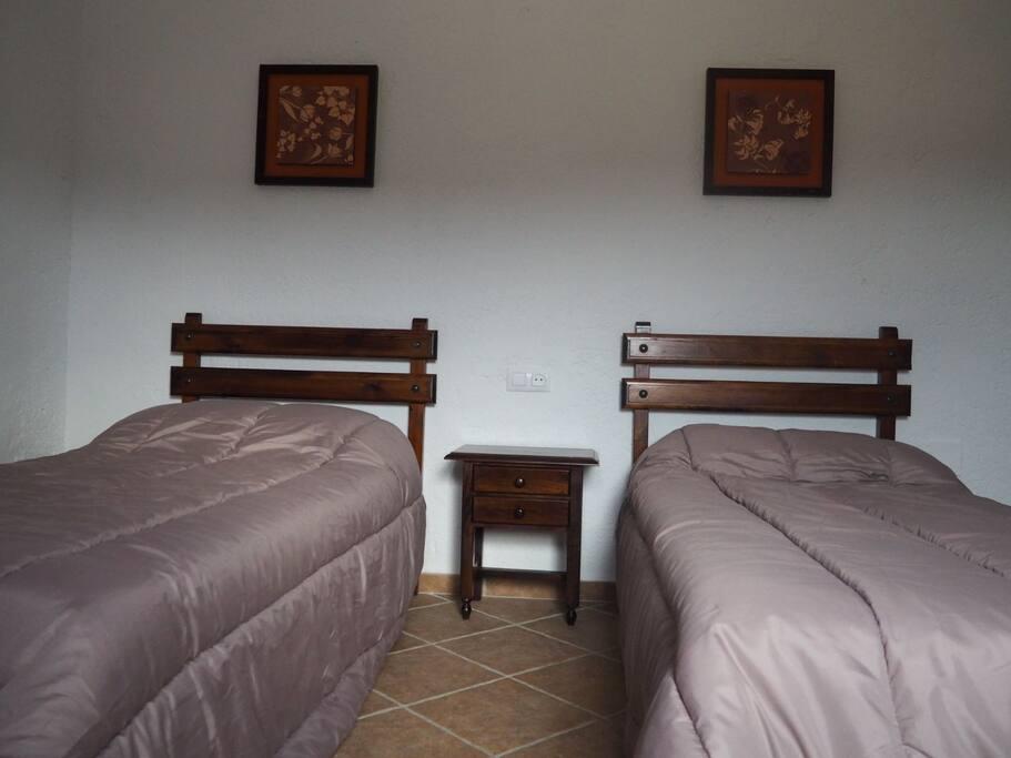 habitación doble.