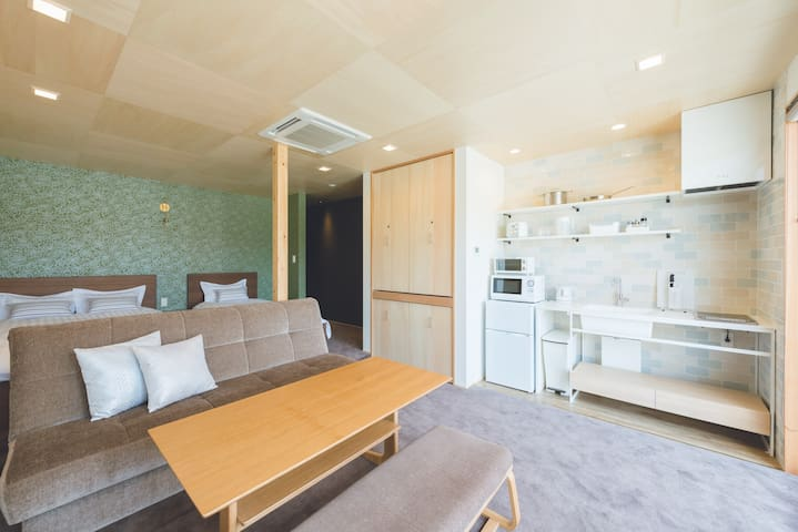 Riverside Suite 1F Fushimi Inari/Parking/WiFi/Bike