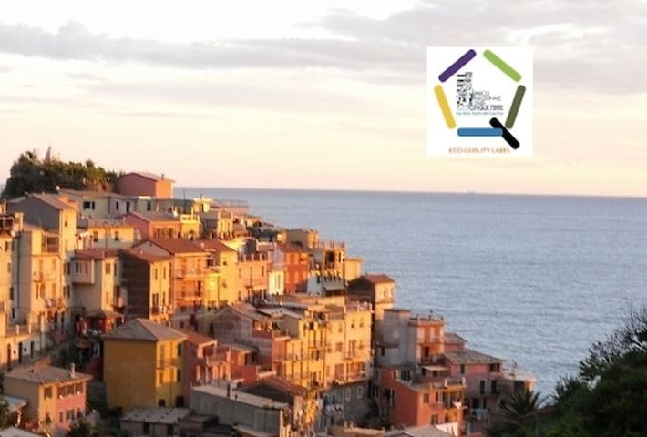 Casa Capellini double with balcony sea view - Manarola - Ev
