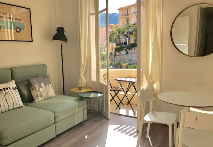 BEAUSOLEIL 1 bedroom appartment 400m from Monaco