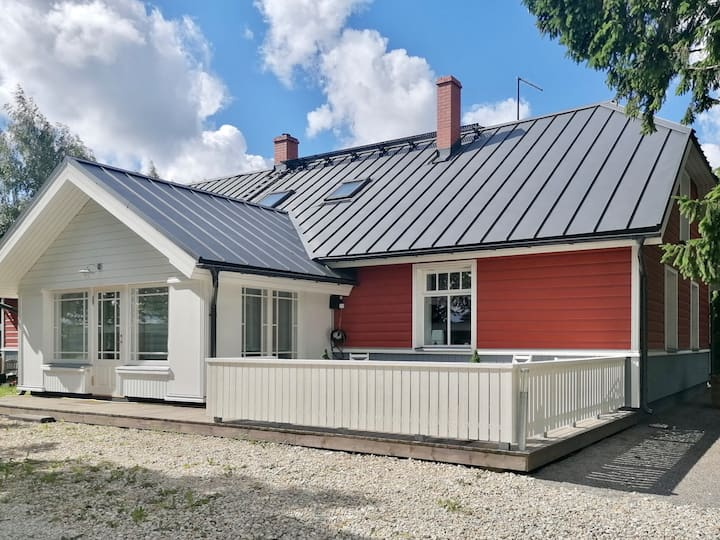 Beautiful country house near Tartu for 8 people