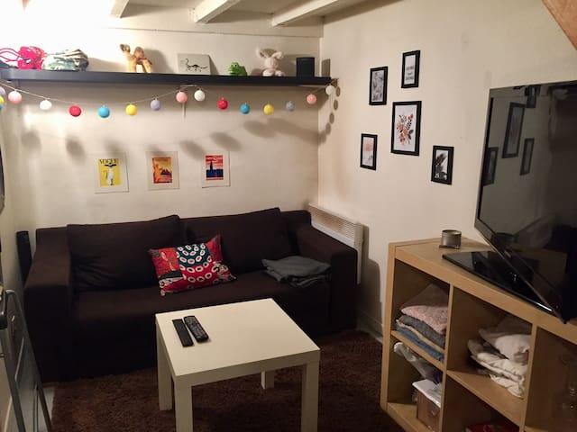 Cozy Studio coeur Lyon 6