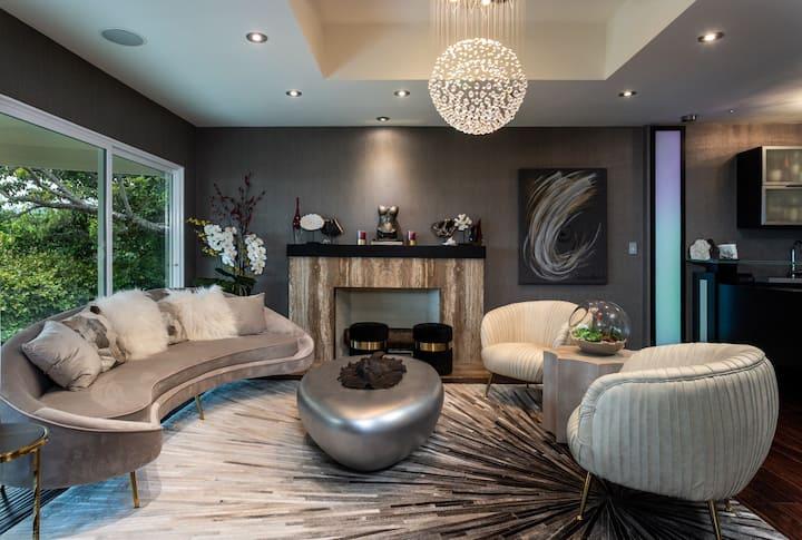 Luxury designer house, wow ocean & sunset views