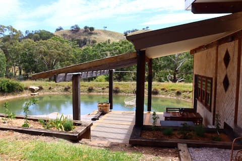 Jacobs Place - Kirwin Mudgee An eco house off grid