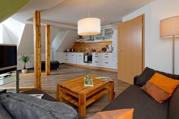 Exklusive Wohnung mit Garten - Elbingerode (Harz) - Apartmen