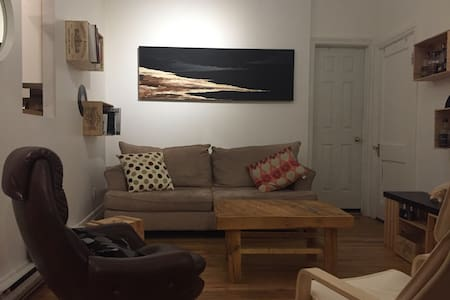 Cozy 2-BR Apt 2 stations away from Downtown - Montréal