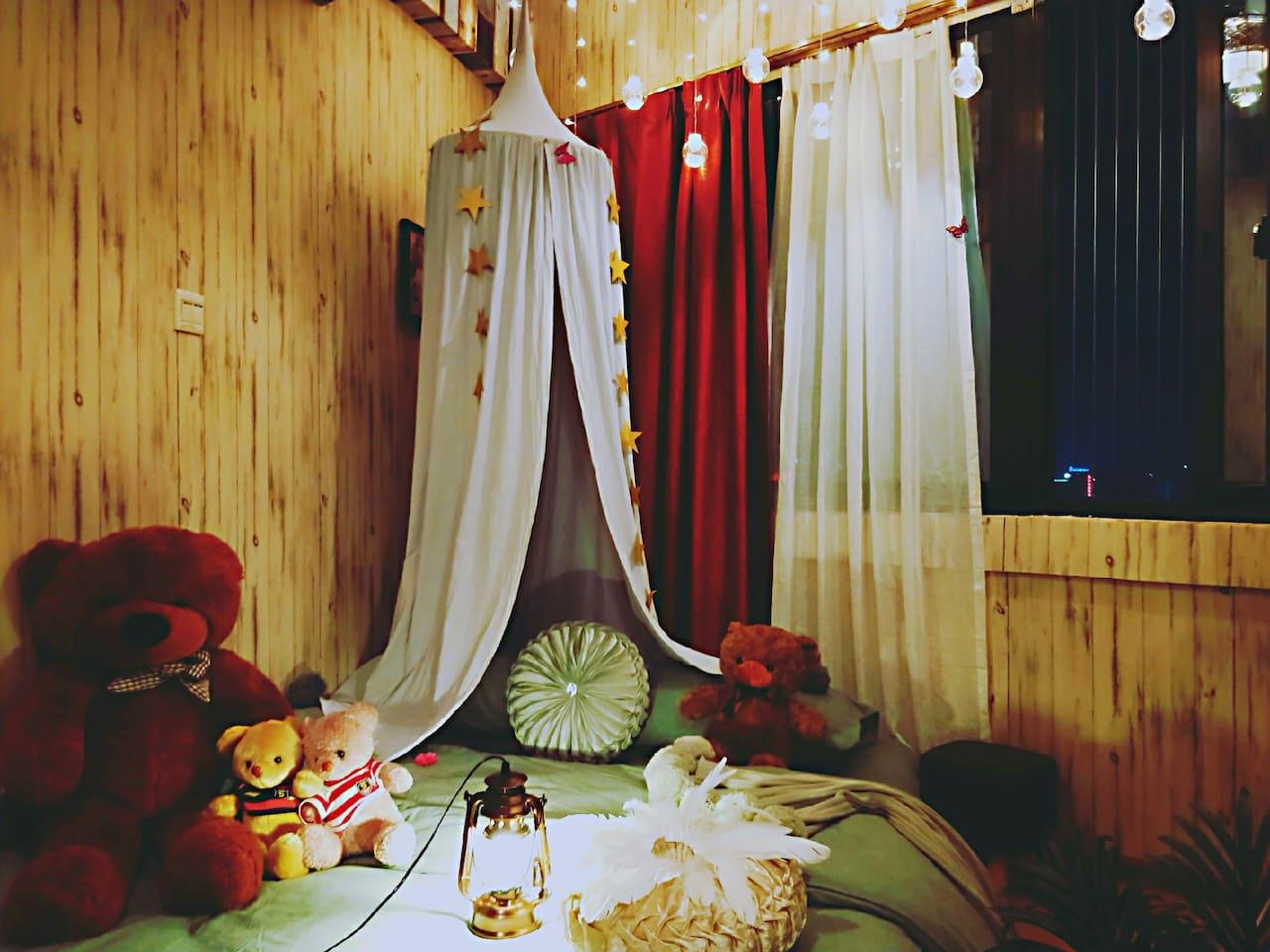 客厅的房间