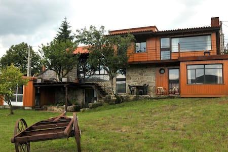 Casa de diseño Eido da Paxota