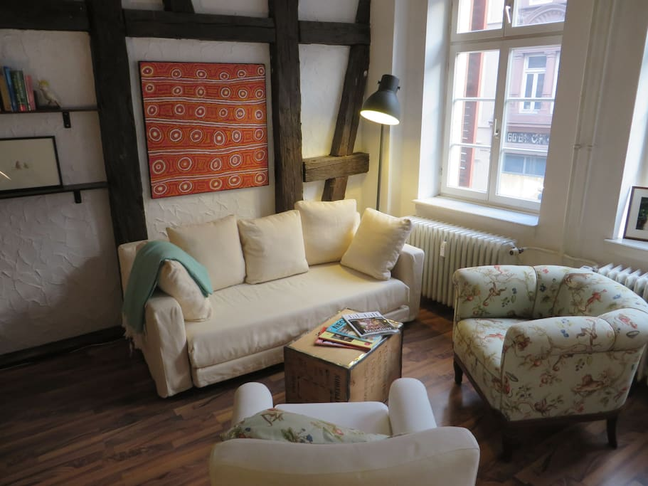 mittendrin und urgem tlich apartments for rent in heidelberg baden w rttemberg germany. Black Bedroom Furniture Sets. Home Design Ideas