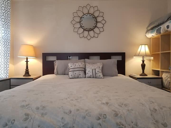Sleep Like a King - California king bed