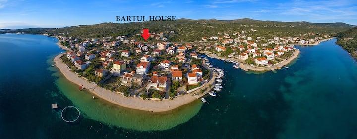 Seaside adriatic apartmen near sea- Apart. Bartul