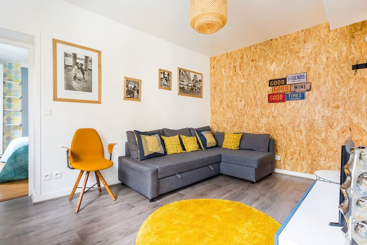 Central and cosy apartment near Bastille 4 people