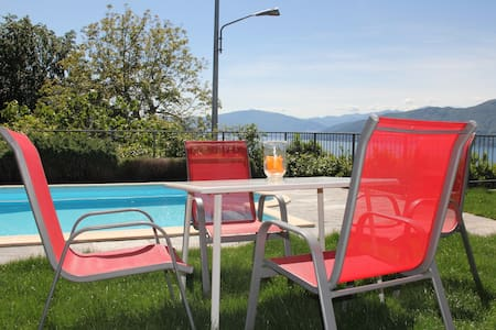 Apartment for 2 people on Lake Maggiore - Bedero