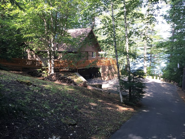 Beautiful Lakefront Home on Trickey Pond