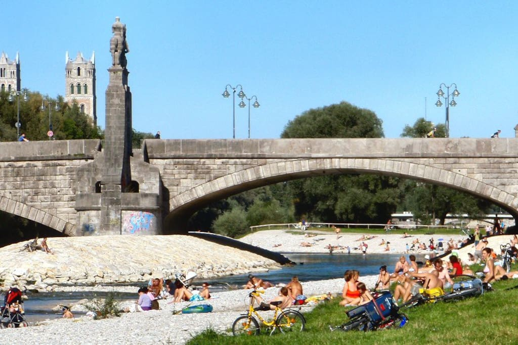 Isar: A city oasis right beside the house