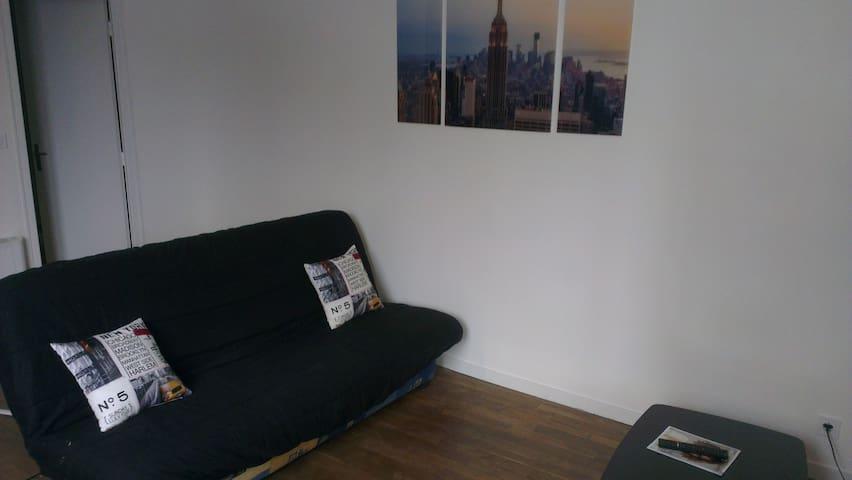 appartement refait neuf à deux pas de la gare! - Bourges - Apartamento
