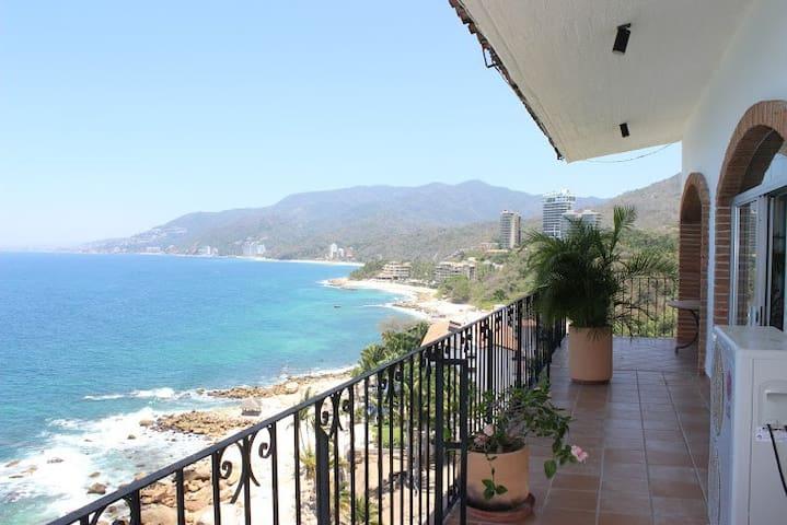 PH in Best Beach with amazing view - Puerto Vallarta - Appartement