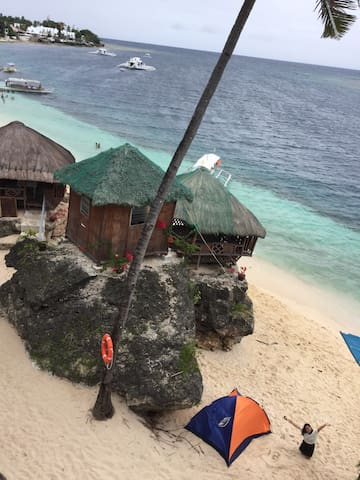 Tent at beach front alcoy cebu - Alcoy - Tenda