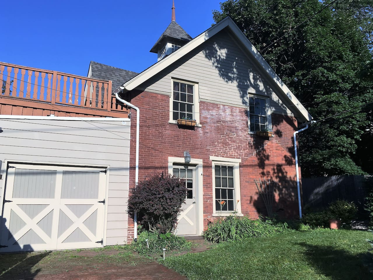 Front of Carriage House