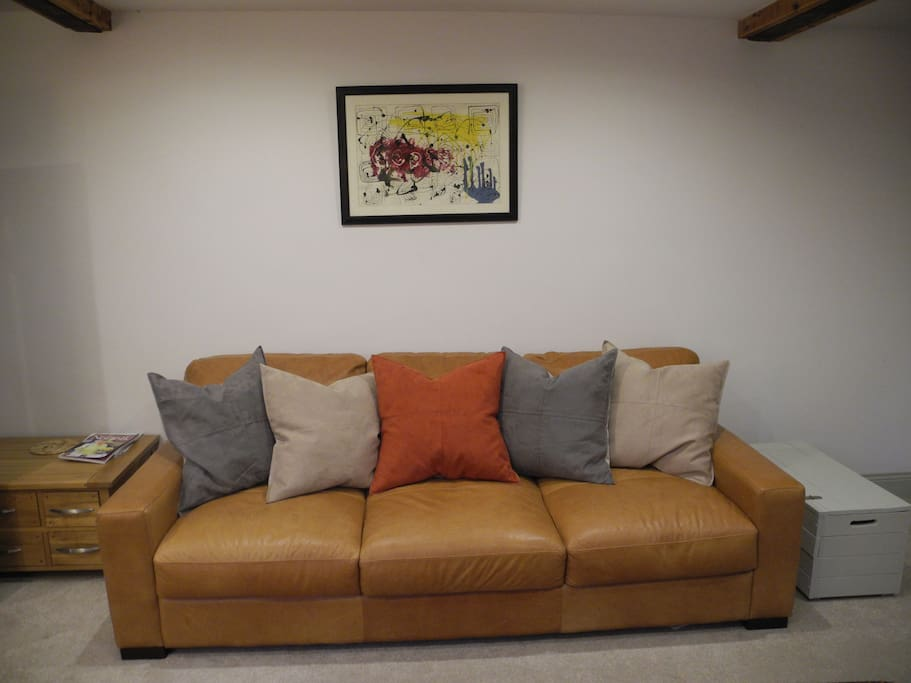 Supersize, comfy sofa