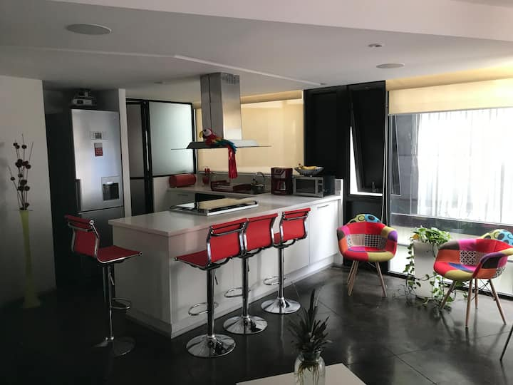 Great Accommodation in Condesa , modern , secure