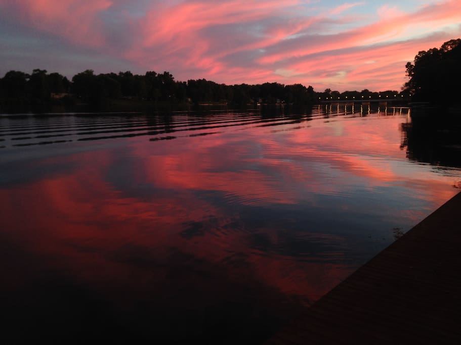 Unbelievably Colorful Sunsets