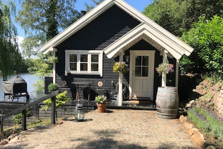 Sommerhus i idylliske omgivelser