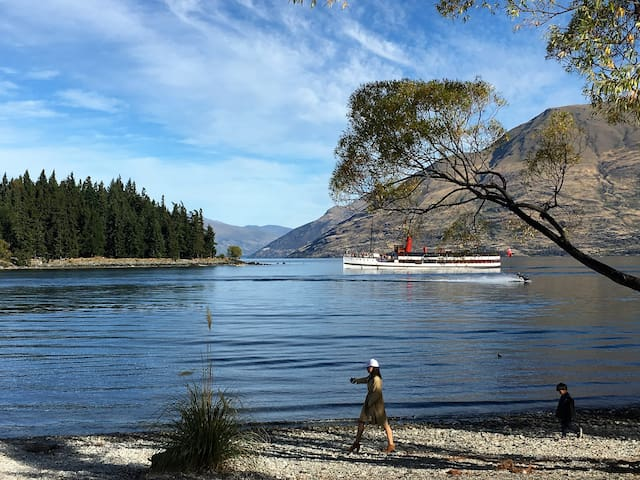 Queenstown on the Lake (photo from living room)