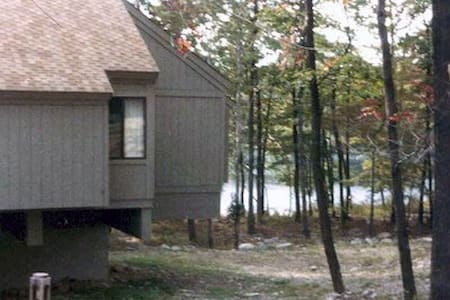 Poconos Bushkill Tamiment Cabin Pool, Lake