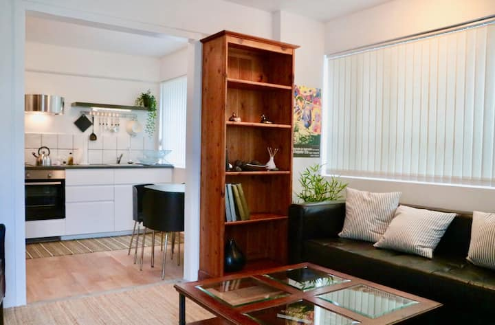 Bright and cozy flat with private entrance.