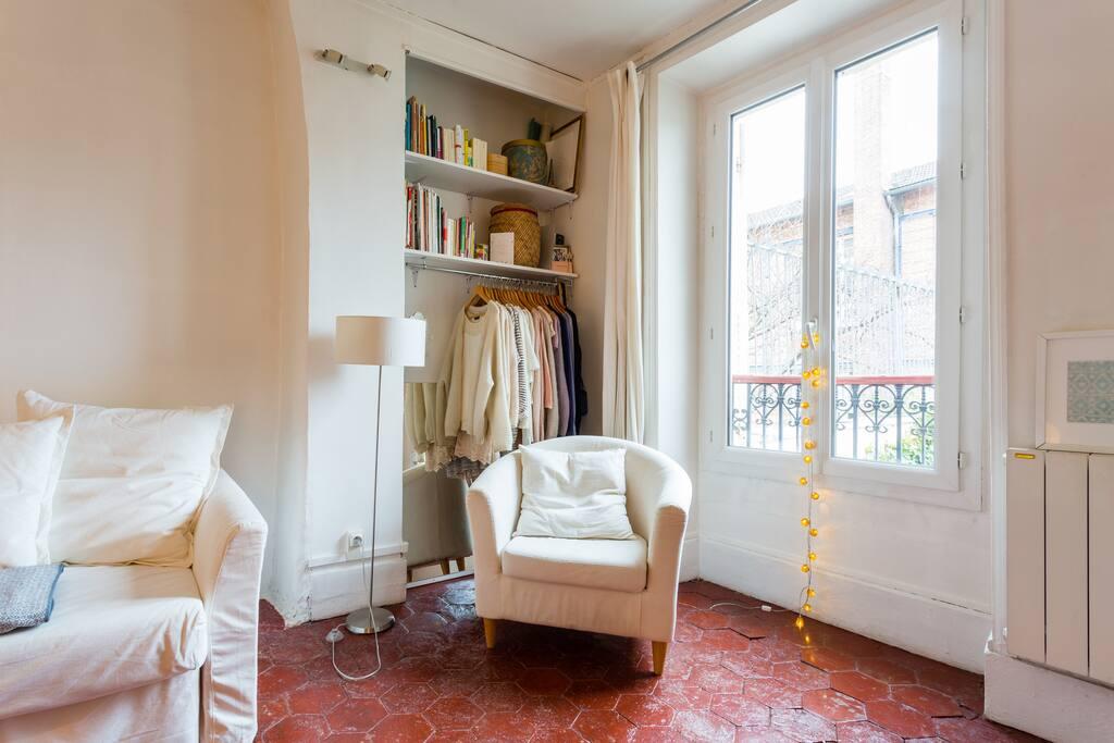Cozy studio in Montmartre