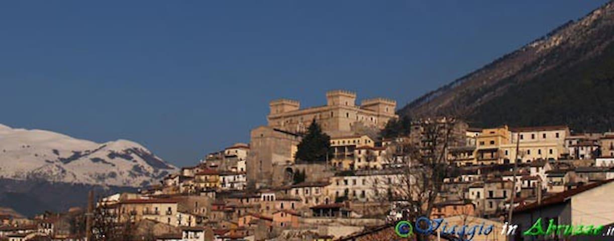 Celano près de Rome - Pescara - 12 km Ovindoli ski - Celano