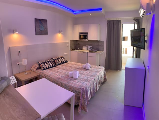 Modern  Studio in center of  famous Cala Dor city