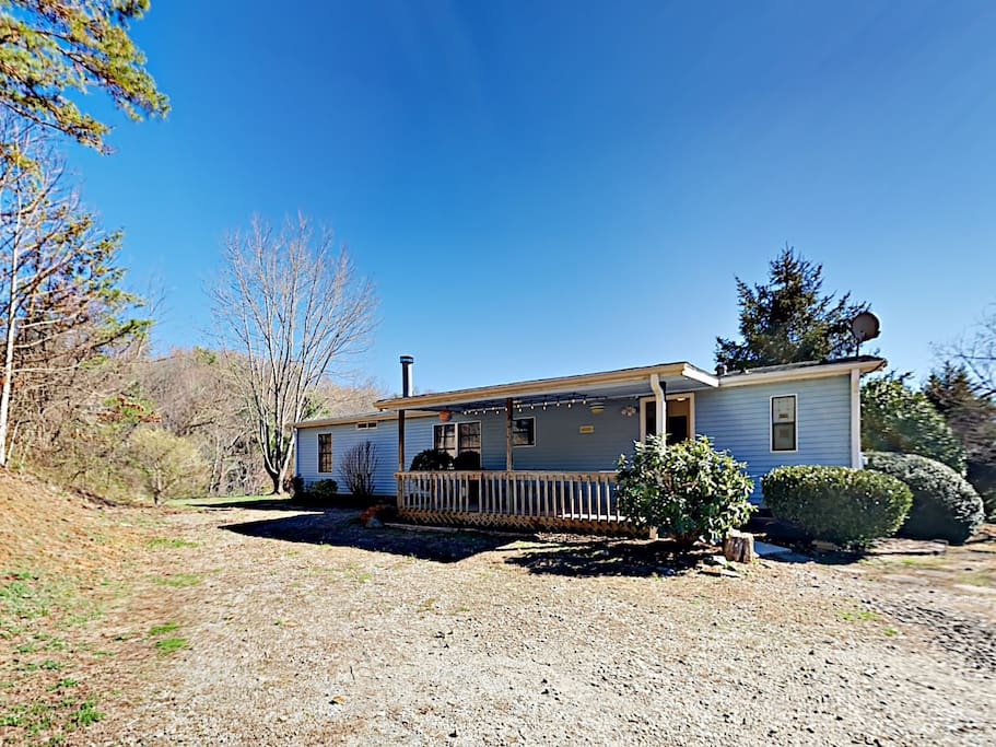 Your home is situated on an expansive two-acre lot with plenty of space to roam.