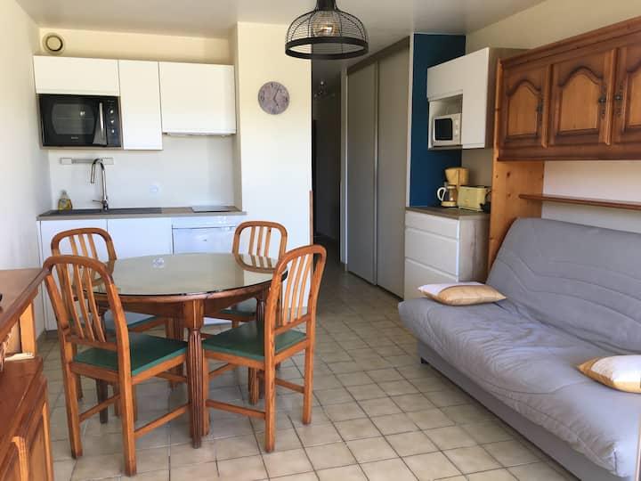 Bel appartement rez-de-chaussée 4 personnes