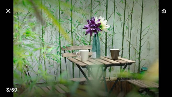 Boutique Bamboo Apartment | 江南西地鐵站 | 商務兩床 | 公寓整租