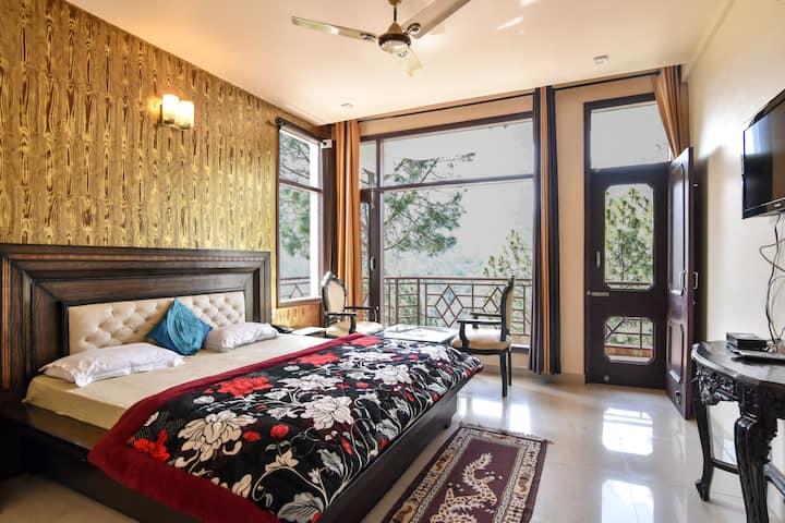 2 Bedroom   Lawn   Balcony   Pine Forest   Serene